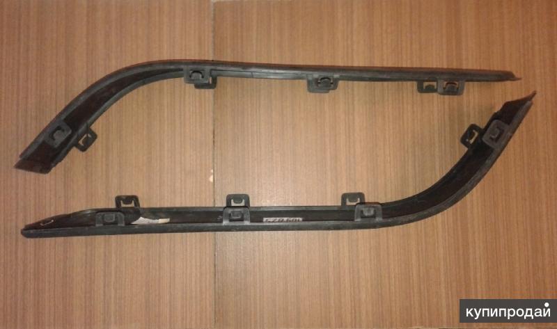 Комплект молдингов заднего бампера / AUDI 80 B4 (91-94) TYG