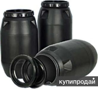 Бочка черная 260 литров (пищевая) б у