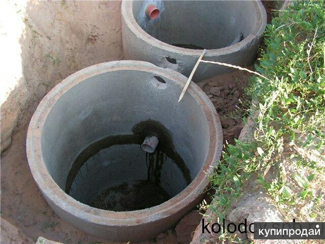 Своими руками канализация из бетонных колец