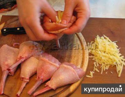 Как сделать голени курицы