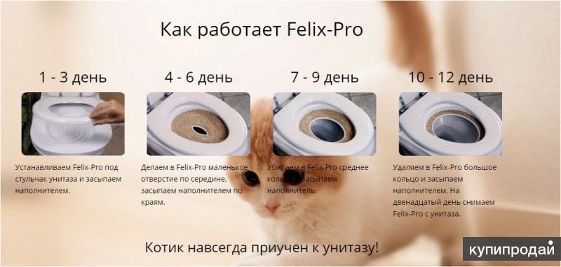 Лоток для приучения кошек к унитазу Самара