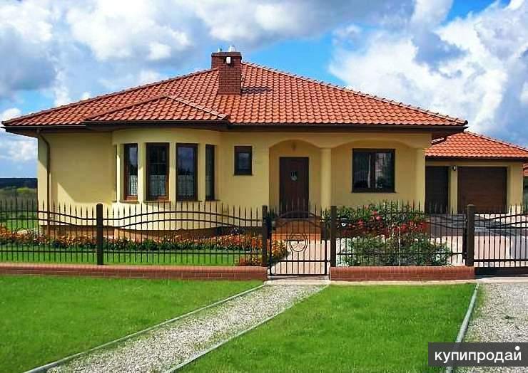 Дизайн частных одноэтажных домов
