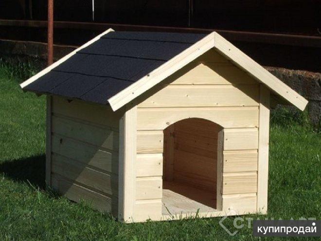 Будка для собаки 1,0х1,0м Альтаир
