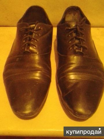 Туфли Мужские кожаные 42й размер 2пары в отличном