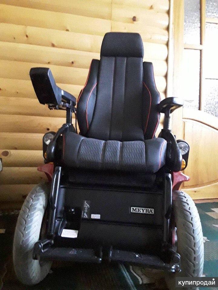 инвалидная коляска Мейра с электроприводом
