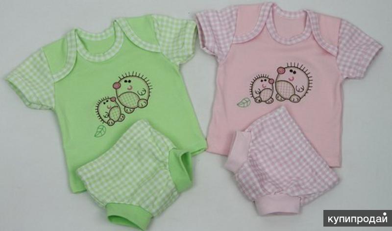 Одежда для новорожденных от производителя