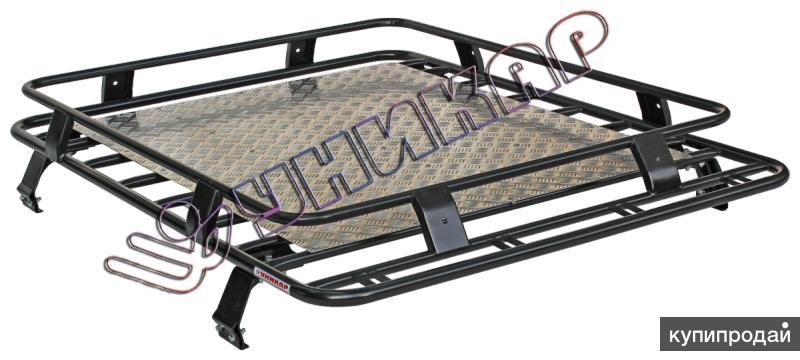 Багажник ВАЗ-2121 сварной с алюминиевым листом