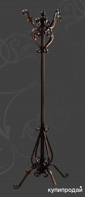 Вешалка напольная металлическая кованая В-1