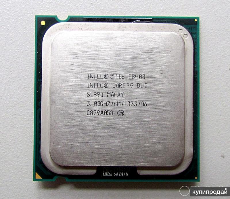 2144253 интел Е8400 3.0ггц сокет 775 кеш 6Mб (b/y)