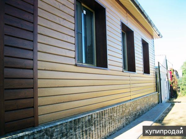 Утепление и обшивка фасада дома сайдингом недорого