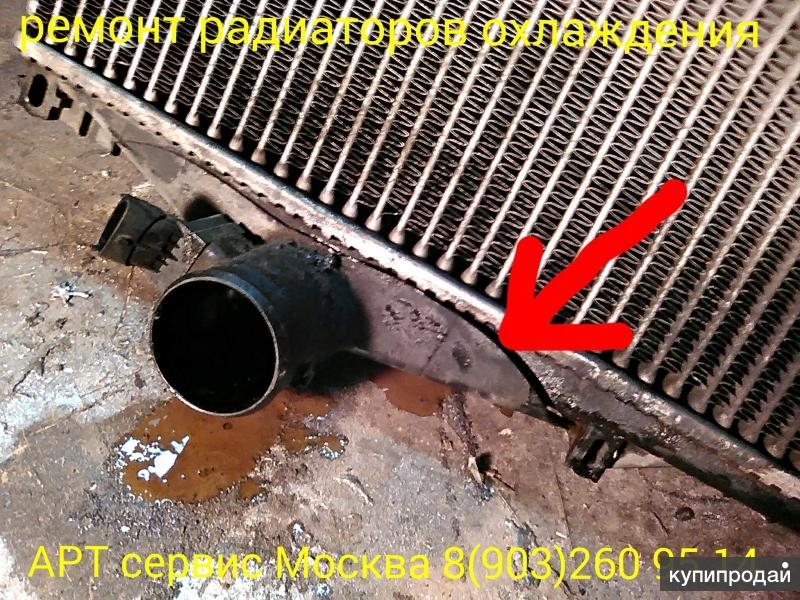 ремонт и пайка радиаторов охлаждения грузовых автомобилей