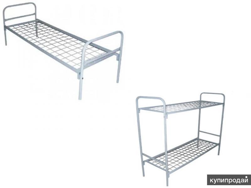 Кровать металическая(однояр-двухъярусная)