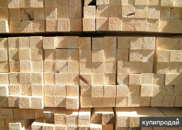 Брусок обрезной 25мм*50мм*2-3м http://eco-doski.ru