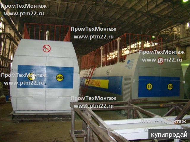 Резервуары стальные, емкости металлические, контейнерные, модульные АЗС