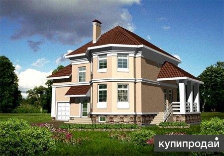 Кирпичный дом 10 х 14,5. Площадью: 240 м2