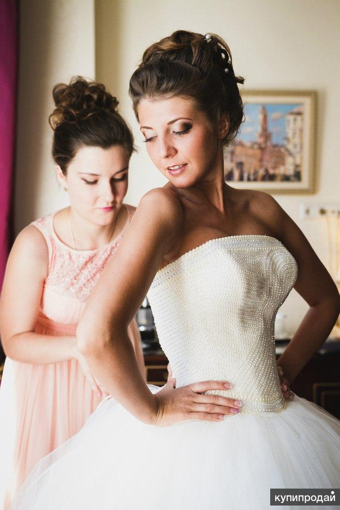 свадебные прически и макияж петербург