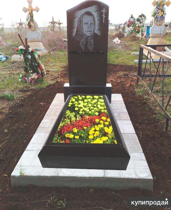 Цветник на кладбище своими руками 464