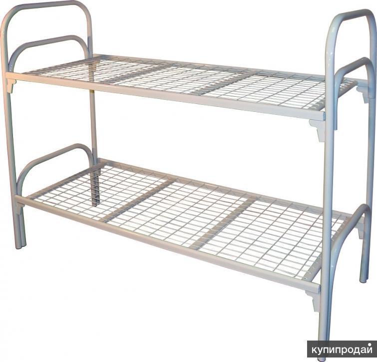 Кровати металлические двухъярусные!!!