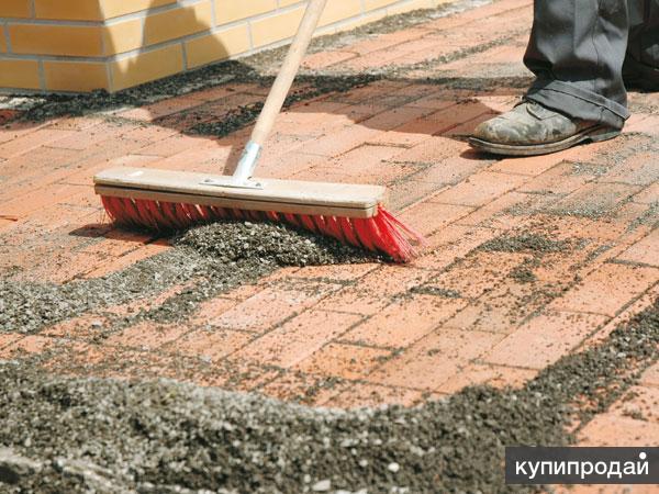 Укладка тротуарной плитки (брусчатки) на дорожки