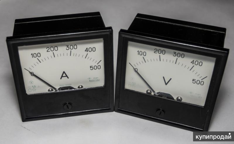 Амперметры вольтметры постоянного тока М-381, М-330, М-367, М-309