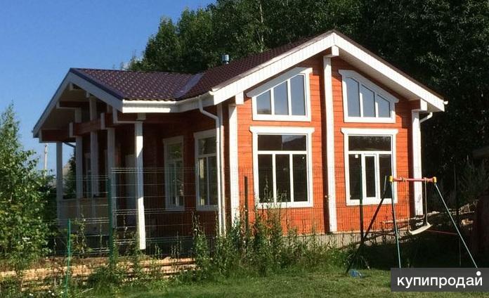 Строительство домов из мини-бруса