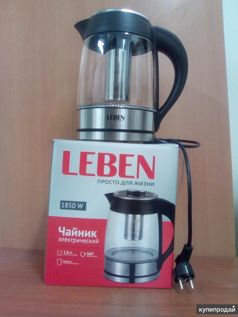 Електро чайник с заварочным фильтром