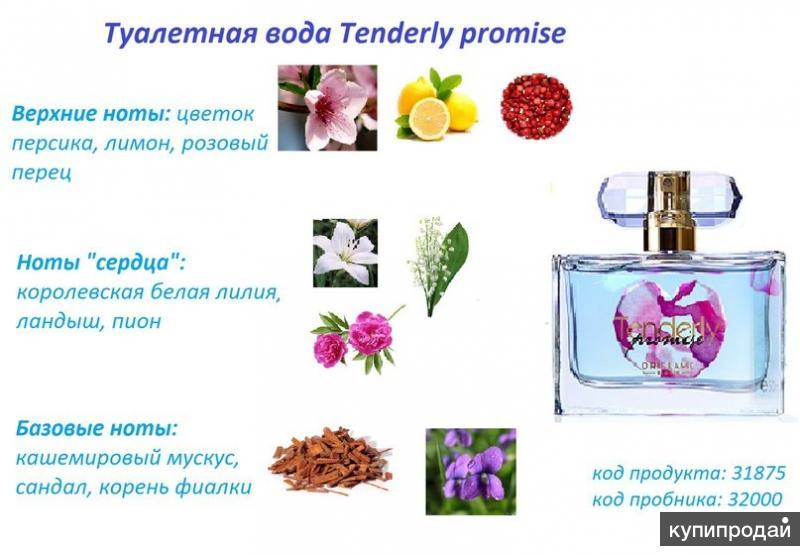 Туалетная вода Tenderly Promise [Тендерли Промис]