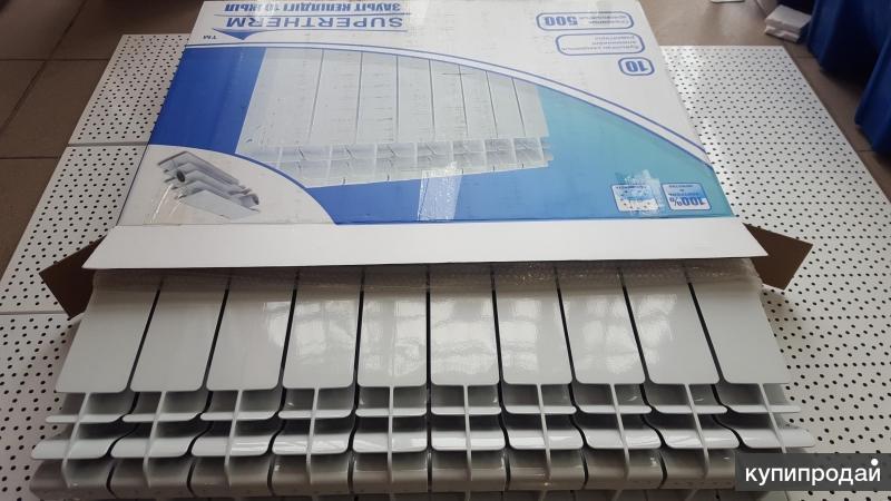 Алюминиевые Радиаторы SuperTherm 500/100