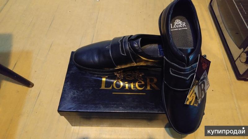 Новые Кожаные полуботинки Loiter куплены в Rieker