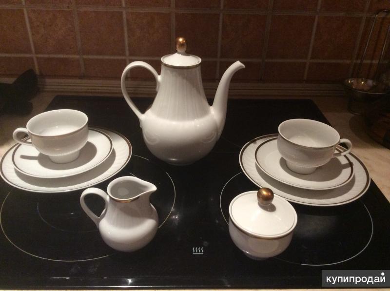 Продаю чайный сервиз из ГДР Henneberg