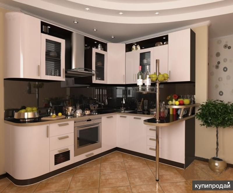 Изготовление кухонь на заказ по доступным ценам
