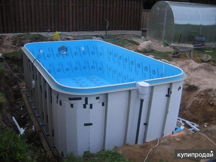 Установка полипропиленовых бассейнов своими руками
