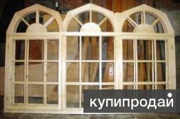 Изготовим террасные и верандные рамы , деревянные окна