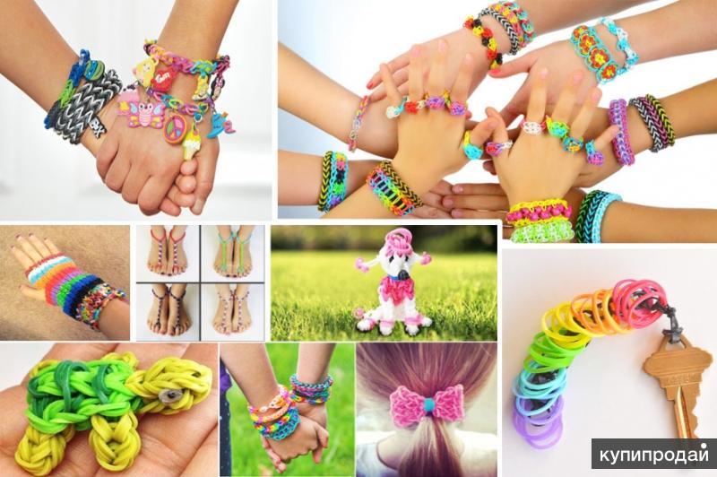 Резиночки для плетения своими руками