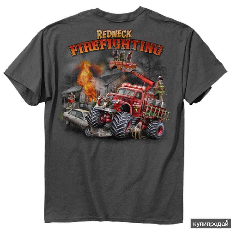 Майки для пожарников