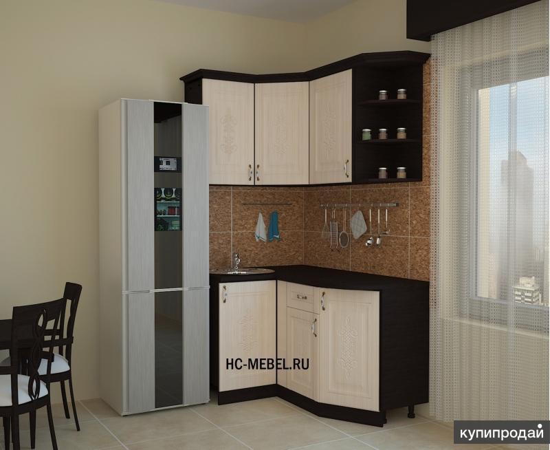 Кухонный гарнитур БЕЛАРУСЬ угловая, Размеры: 1000х1465