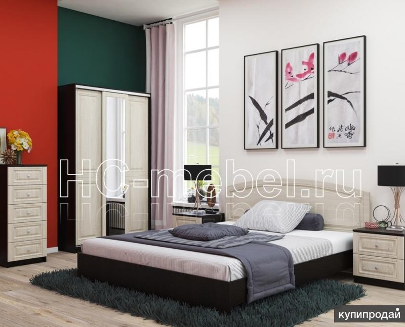 Спальня СИБИРЬ, шкафы, комоды, кровати, тумбы