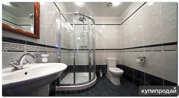Как отделать ванной комнаты