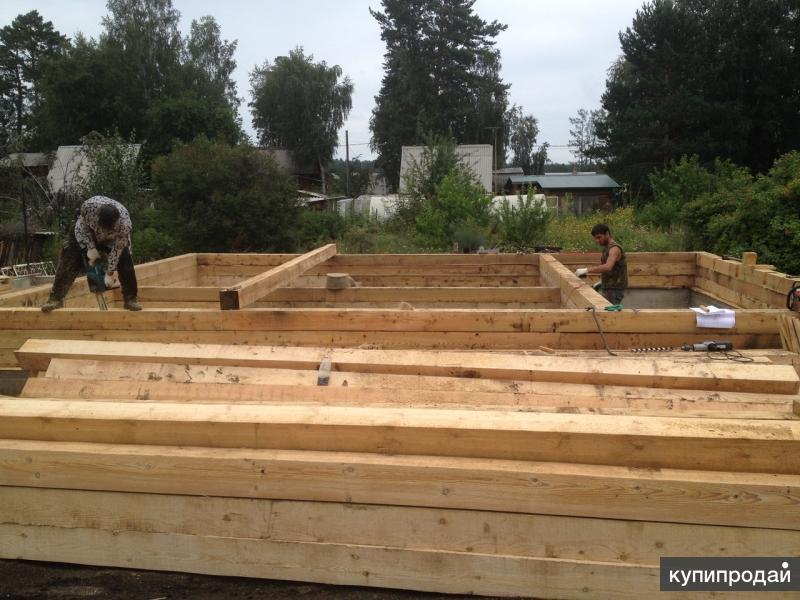 Строим дом из бруса своими руками от фундамента до крыши фото 61