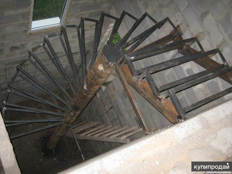 Лестницы металлические Москва