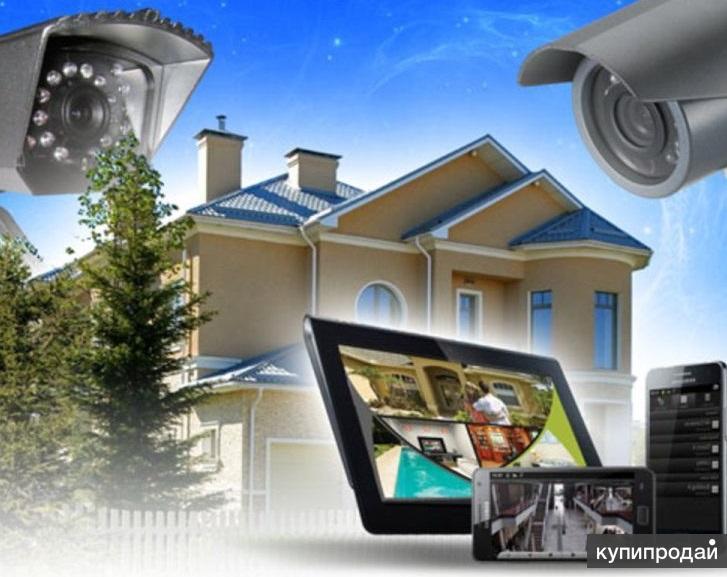Установка системы видеонаблюдения. Датчики движения