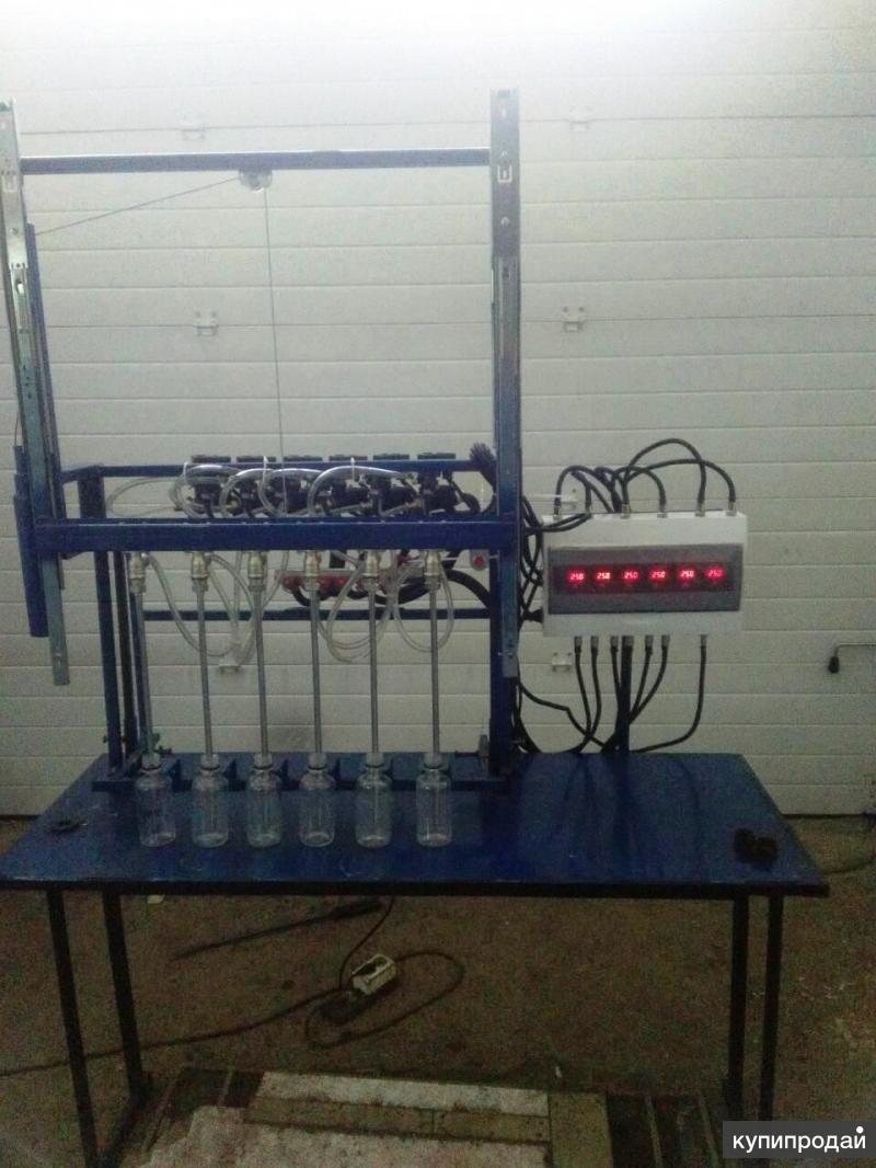Полуавтомат розлива жидких продуктов