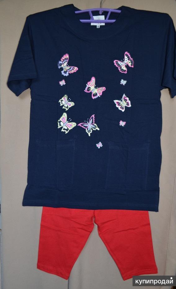 Удлинённая футболка - туника женская пр-во Турция