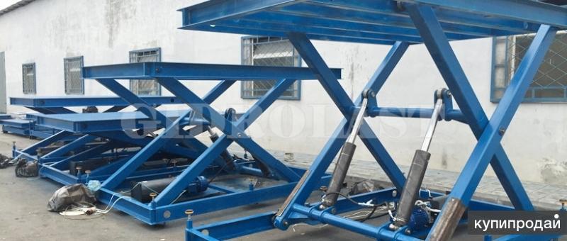 Производство подъемников грузовых консольных мачтовых