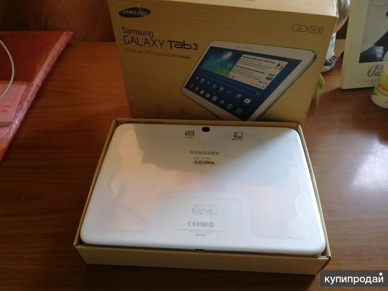 Продам планшет Samsung Galaxy Tab3 255,8 (10,1 дюйма) TFT (1280x800)