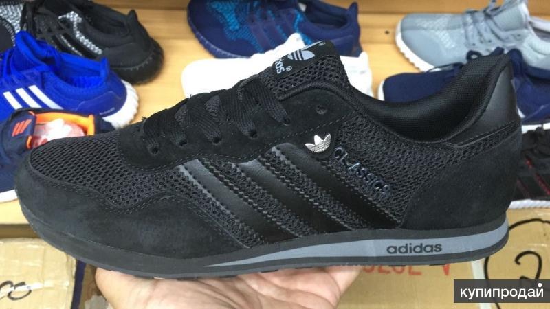 Новые Adidas (натур. замша) Кроссовки Адидас 40-44 размеры