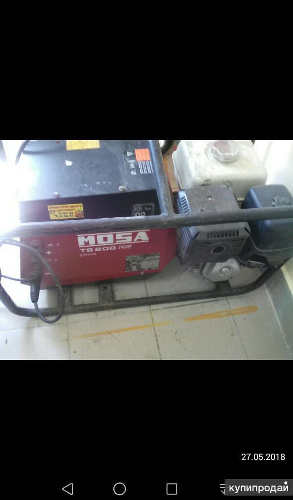 Сдам в аренду сварочный генератор MosaTS200/CF