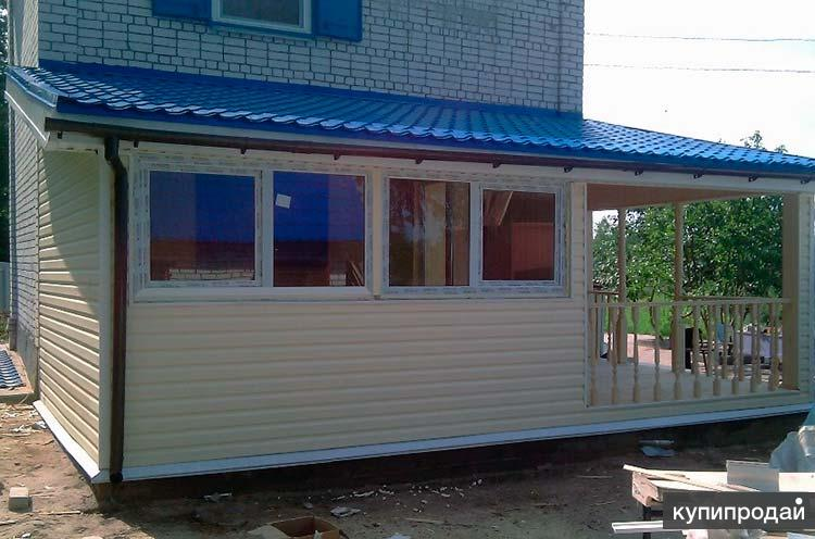 Пристроим пристройку, веранду, реконструируем дачу, дом в Пензе