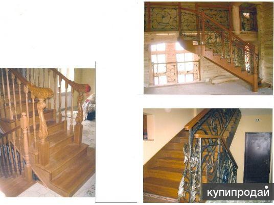 Установить лестницы из дерева в Домодедово, в Москве, в Московской области