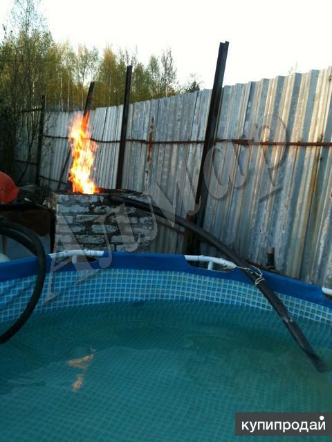 Подогрев воды в бассейне видео